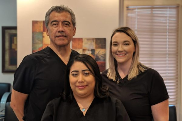 Dr Manuel Herrera Gynecologist and his staff